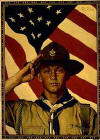 Boy Scout Image by Norman Rockwell